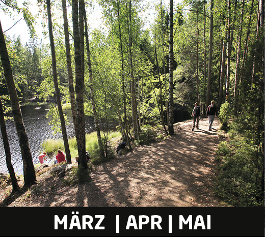 Finnland Urlaub Frühling