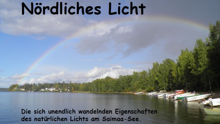 Nordliches Licht Saimaa