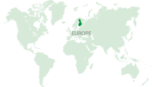 Finland Europe Map Lake Saimaa Mikkeli Savonlinna