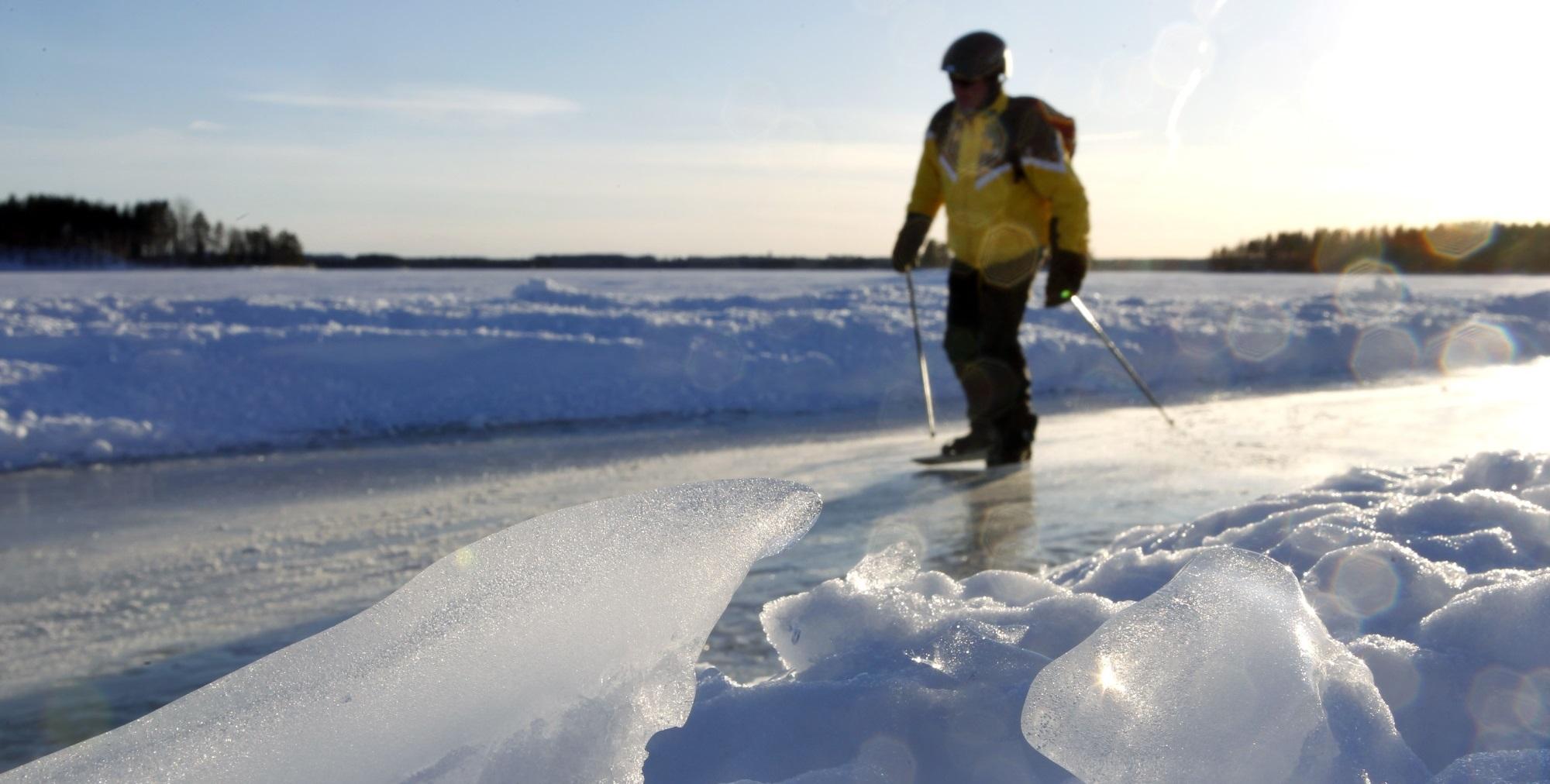 Finland Travel Winter Activities In Mikkeli And