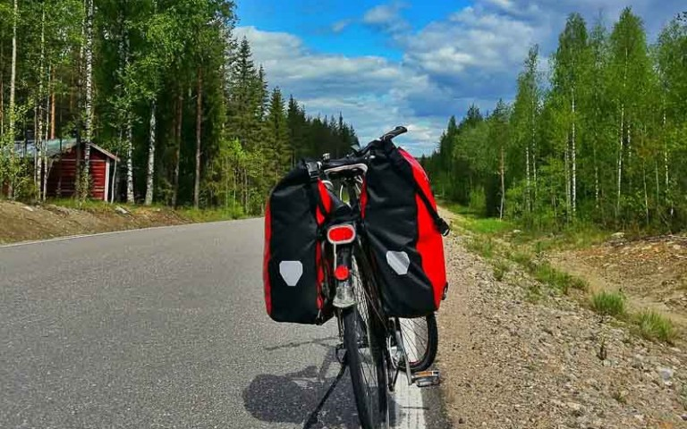 How to Cycle the Eurovelo 13 Alone Across Finland!