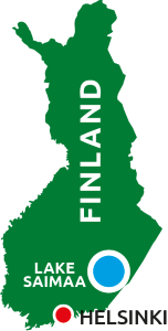 Finland Seenland Saimaa Karte