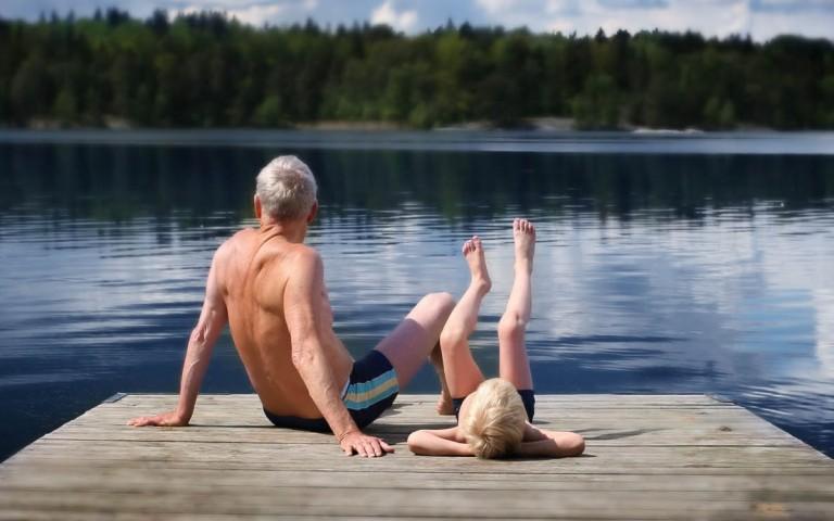 Ruhe und Stille im Seenland Saimaa, Finnland