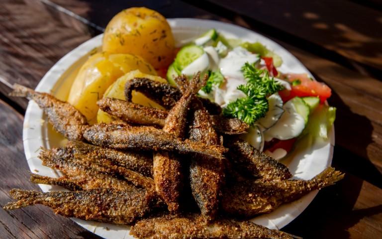 Finnland Fischdelikatessen im Seenland Saimaa