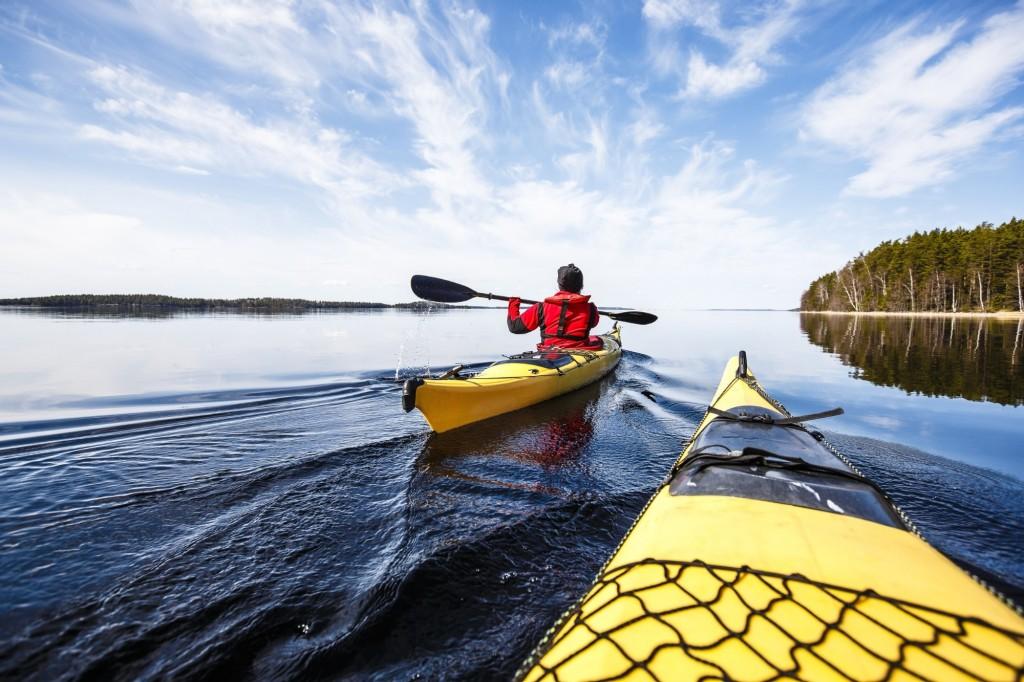Canoeing in Finland Mikkeli Savonlinna
