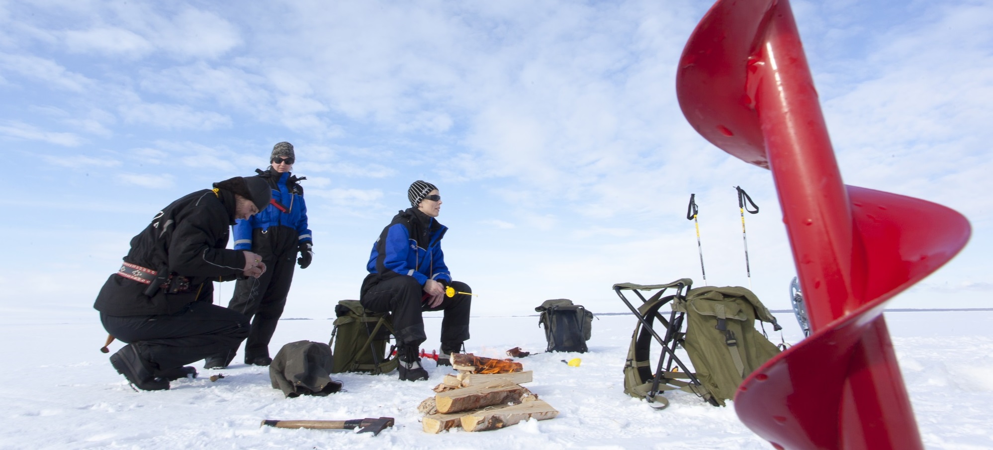Finland Travel - Fish in the winter on Lake Saimaa   Visit Saimaa ...