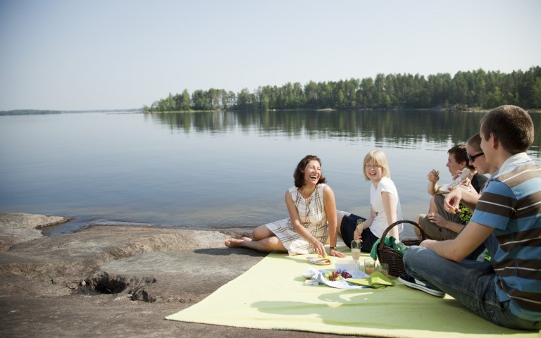 Finnland Wetter mit vier Jahreszeiten
