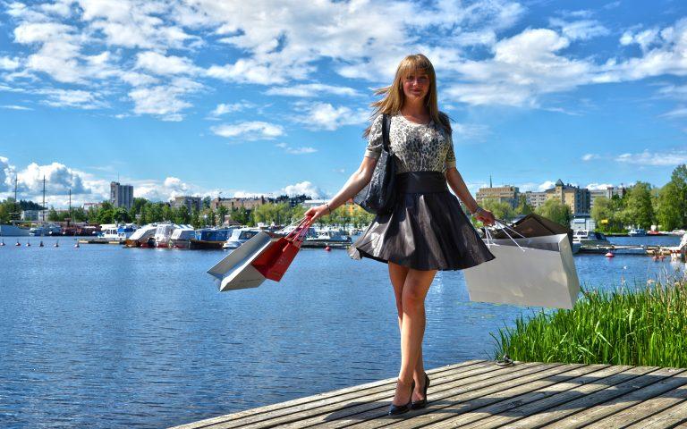 Shopping im Seenland Saimaa