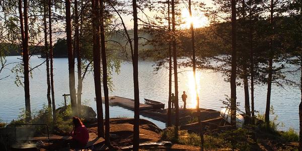 Meczek Travel Blog: Canoe Trip Kolovesi-Joutenvesi-Linnansaari (64km), Finland 2016