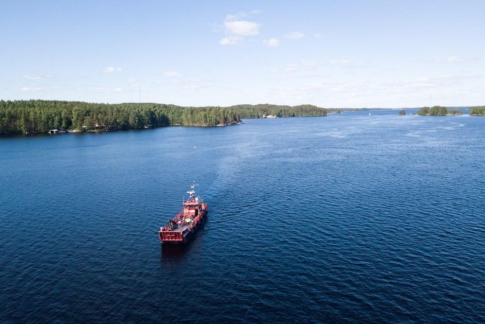 ferryboat saimaa